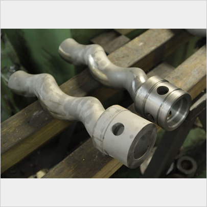SKD-11 ロストワックス製品の加工